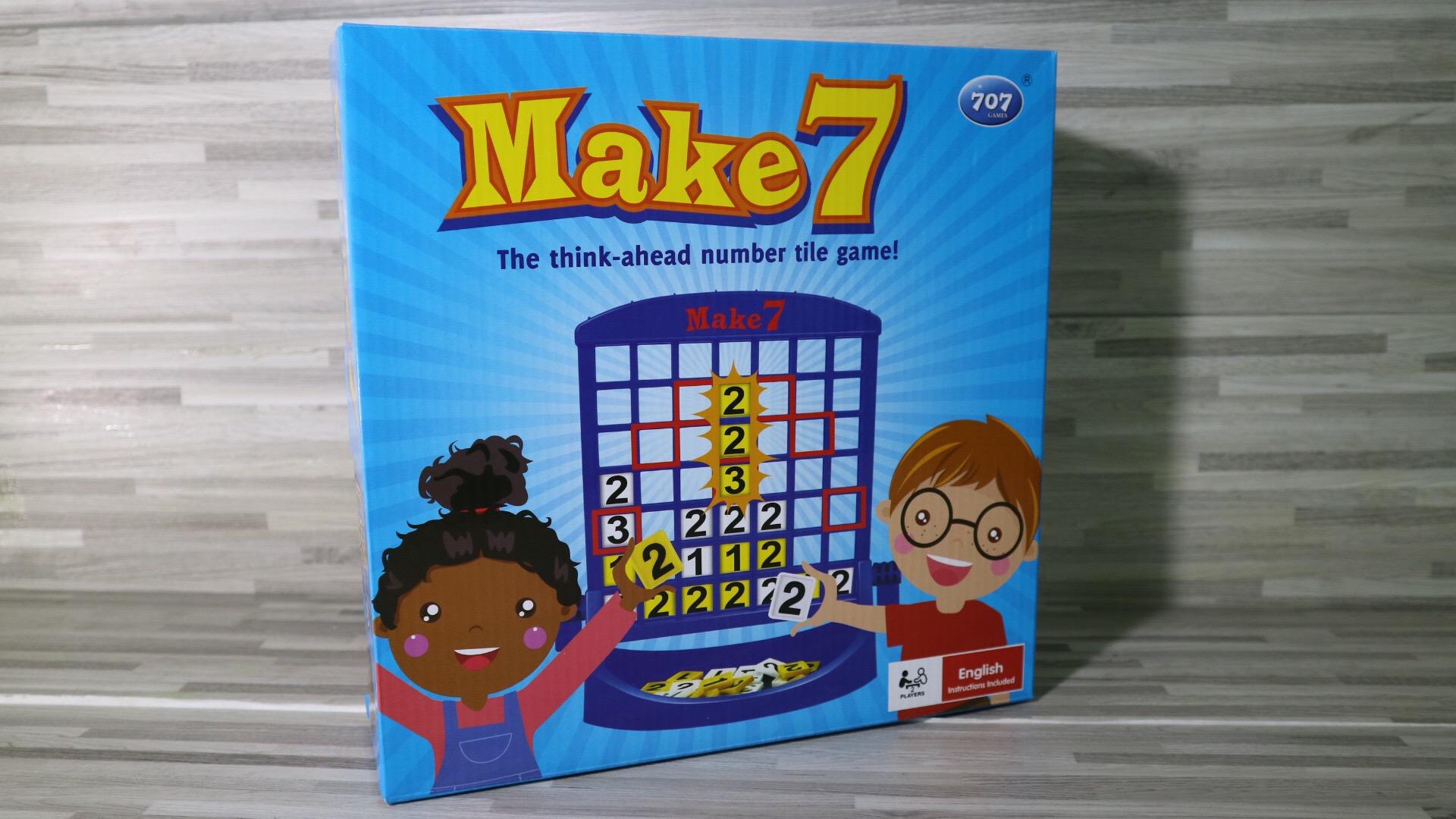 เกมเรียงรวมเลขเจ็ด (Make 7)