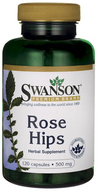 Swanson Vitamins - Rose Hips 500 mg 120 Capsules