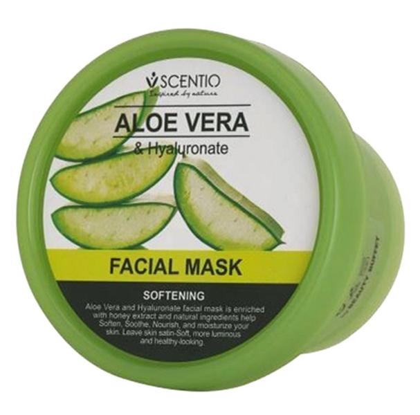 Scentio Aloe Vera & Hyaluronate Facial Mask