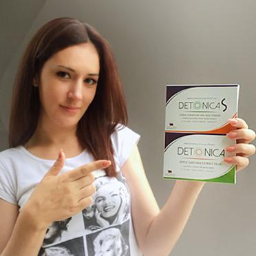 Detonica ดีโทนิก้า ผลิตภัณฑ์ลดน้ำหนัก