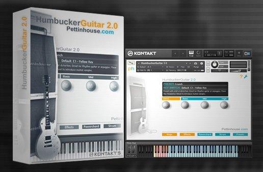 Pettinhouse - HumbuckerGuitar 2.0 KONTAKT