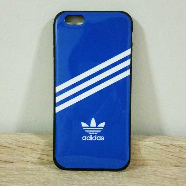เคสไอโฟน 6/6s เคสยางลาย adidas