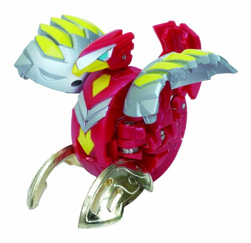 Bakugan BTC-74 Baku-Tech Booster Pack Red Ventus Tri Falco [SEGATOY]
