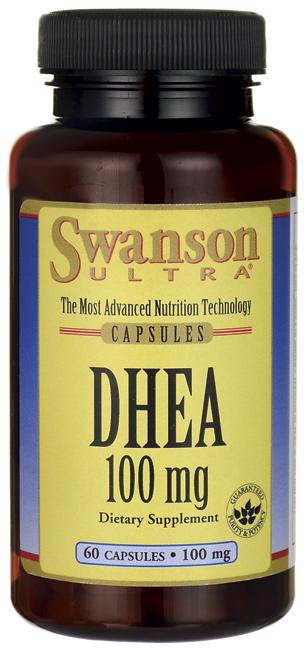 Swanson Vitamins - DHEA 100 mg 60 Capsules