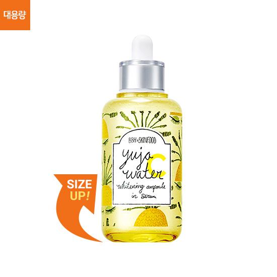 Skinfood Yuja Water C Whitening Ampoule In Serum BBH 60 ml.
