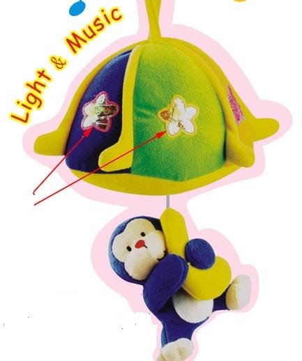 โมบายลิงน้อยห้อยกล้วย