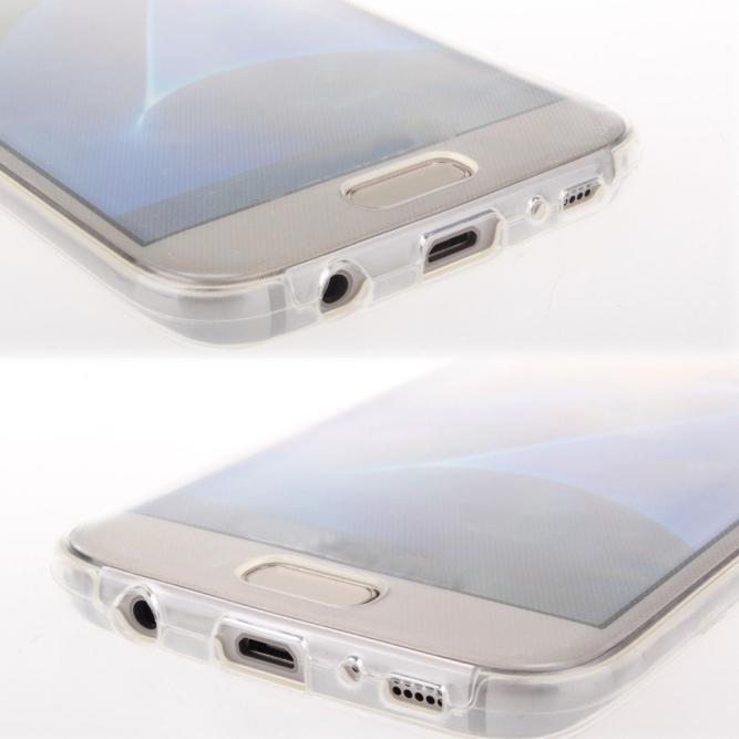 TPU Case ประกบคู่หน้าหลัง (Samsung Galaxy J7 2016 / Ver.2)