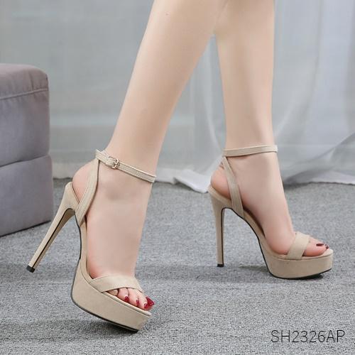 Pre รองเท้าคัทชู ส้นสูง แฟชั่น ราคาถูก มีไซด์ 34-41