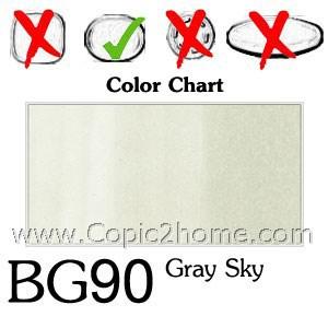 BG90 - Gray Sky
