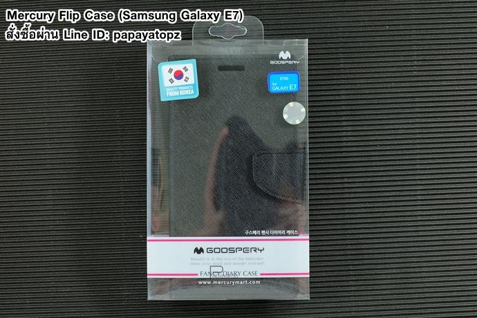 Mercury Flip Case (Samsung Galaxy E7)