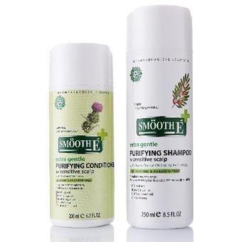 แชมพู + ครีมนวด Smooth E Purifying For Sensitive Scalp [แพ็คคู่] . l