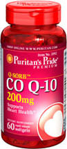 Puritan's Pride - Q-Sorb CO Q-10 200 mg 60 Softgels
