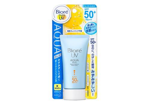 Biore UV Aqua Rich Watery Essence SPF50+/PA++บิโอเร ยูวี อะควา ริช วอเตอร์รี เอสเซ้นส์ SPF50+/PA++ 50g สำเนา