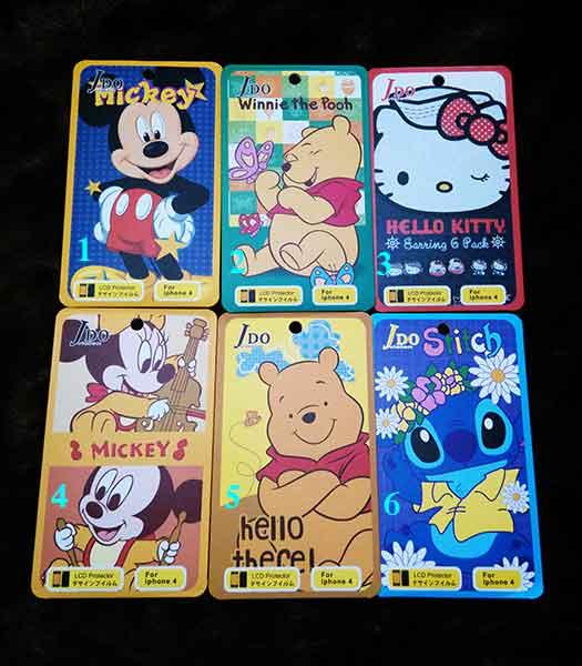 ฟิลม์ SET 2 iphone4/4s