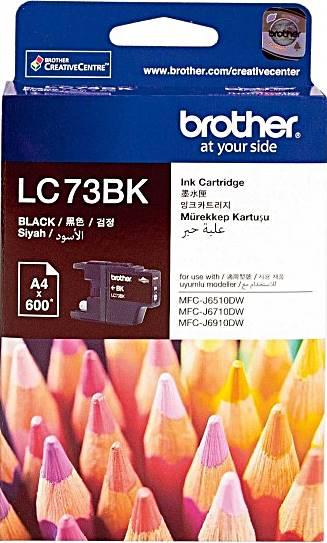 BROTHER INK CARTRIDGE LC-73BK สีดำ