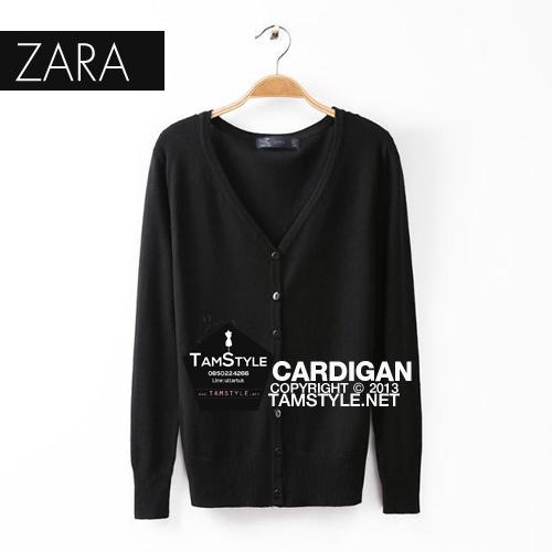 """JumBo Size- เสื้อคลุมแขนยาวZara สีดำ ผ้านิ่มมากกก อันนี้ นำเสนอ จ้า สวยใส่สบาย อก 45-50"""" ยาว 26"""" (เสื้อคลุมพร้อมส่ง)"""