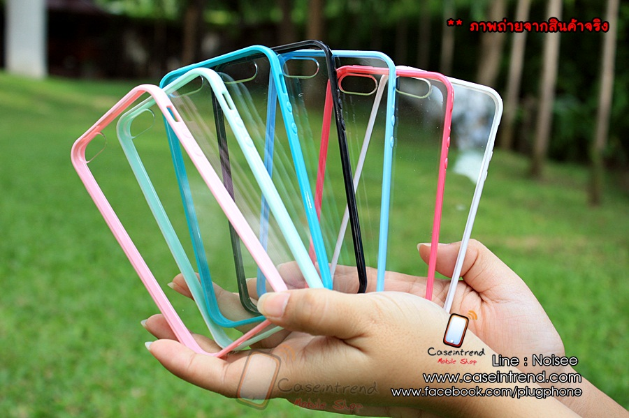 เคส iPhone 5 - Protective Case ขอบนิ่มหลังใส