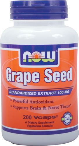 Now Foods - Grapeseed Extract 100 mg 200 Capsules