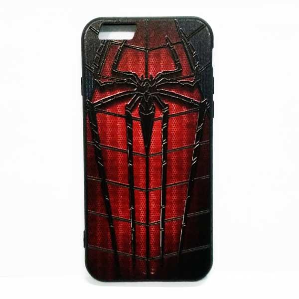 เคสไอโฟน 6/6s Spider Man ลายพิมพ์นูน