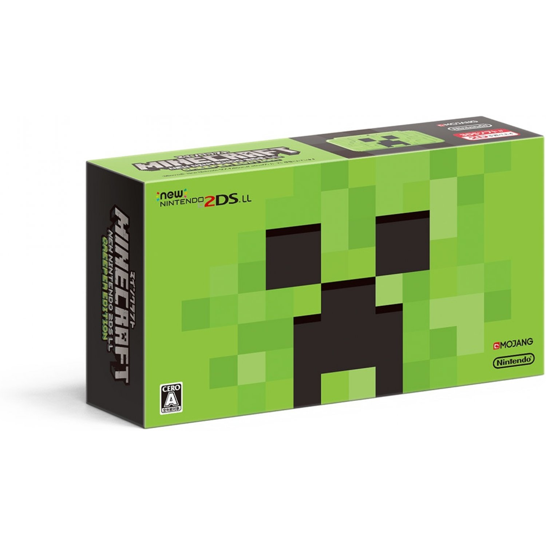 New Nintendo 2DSLL Creeper Edition