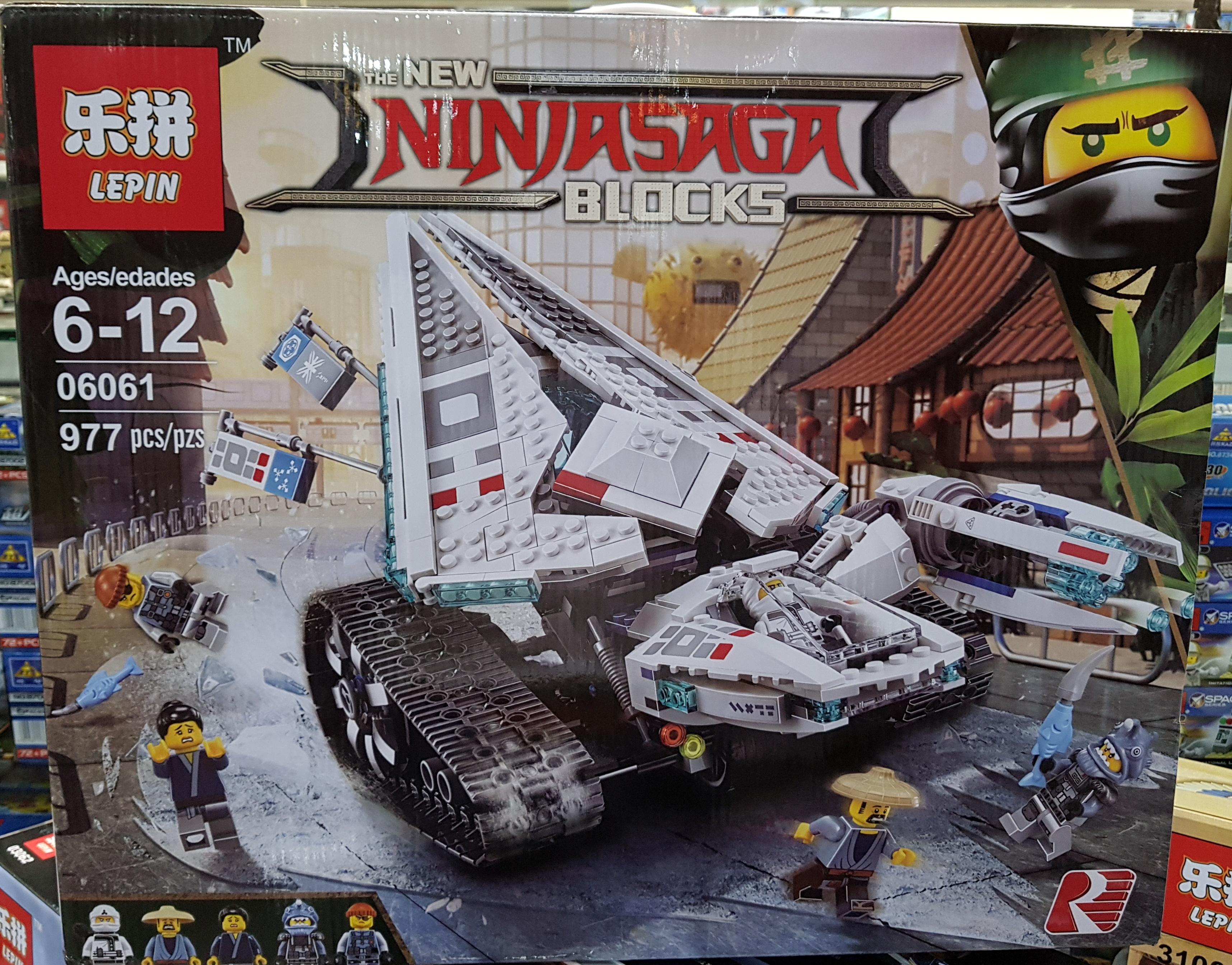 Ninjasaga Ninja Ice Tank 06061 (977ชิ้น)