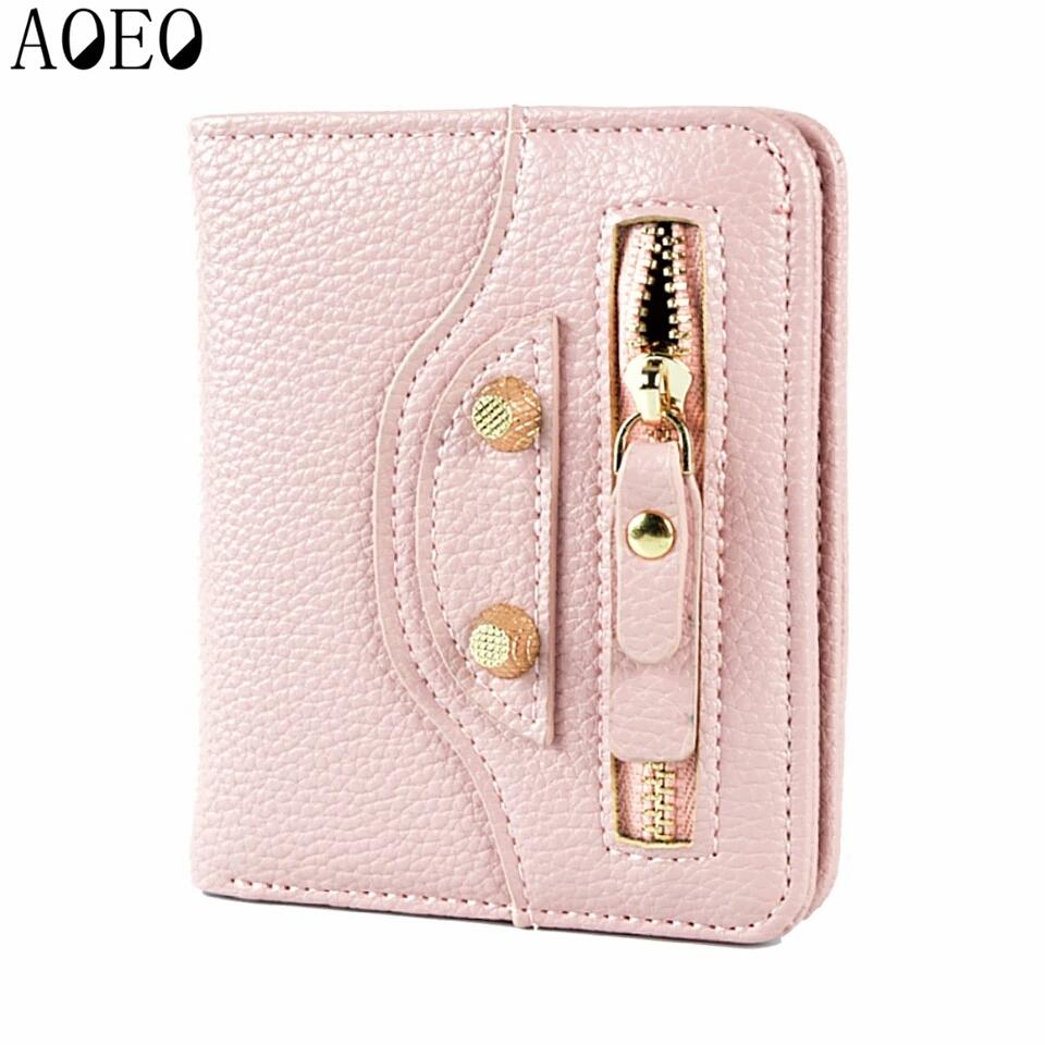 AOEO Pink Wallet กระเป๋าโชคดีสีชมพูรับทรัพย์คนเกิดวันอังคาร วันศุกร์ มีช่องซิปใส่เหรียญในตัว สำเนา