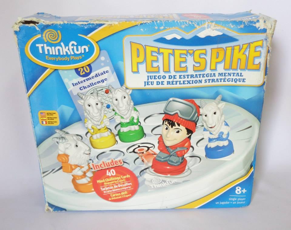 Pete's Pike Thinkfun 2008 เกมฝึกสมอง