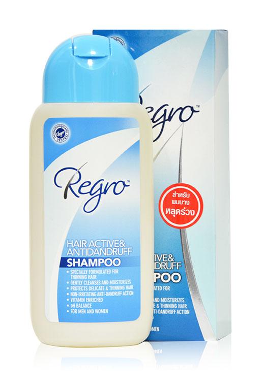 Regro Hair Active & Antidandruff Shampoo 200 ml. แชมพูลดปัญหาผมร่วงและรังแค Regro Hair Active & Antidandruff Shampoo 200 ml. แชมพูลดปัญหาผมร่วงและรังแค