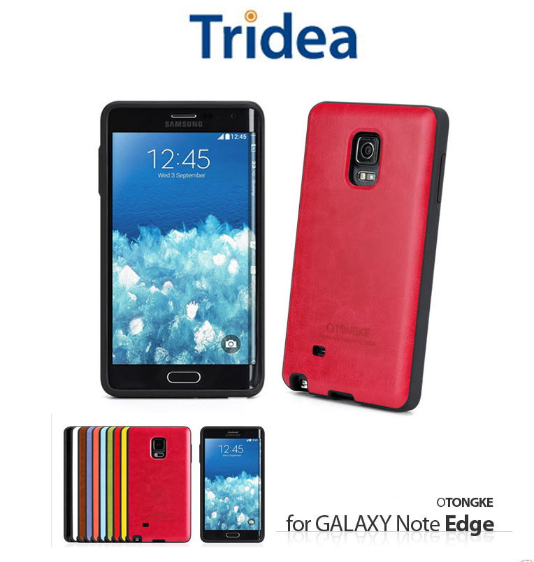 TONGKE : Hidden Card Pocket ARMOR Silicone Case Cover For Galaxy Note Edge