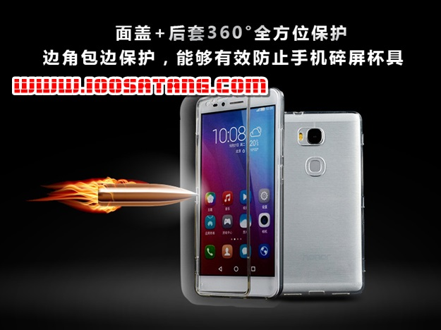 (395-036)เคสมือถือ Case Huawei Honor 5X เคสนิ่มใสสไตล์ฝาพับรุ่นพิเศษกันกระแทกกันรอยขีดข่วน