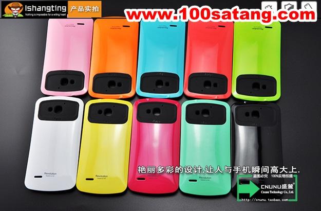 (016-009)เคสมือถือ Case HUAWEI Honor 3X เคสนิ่มพื้นหลัง PC สีสดใสสไตล์ iface กันกระแทก