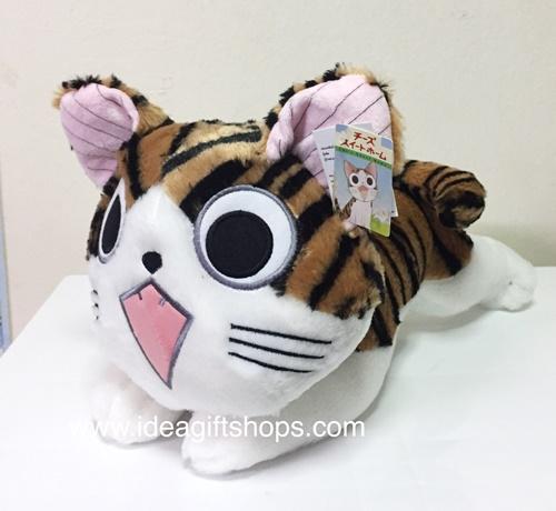 ตุ๊กตาแมวน้อยจี้จัง สีน้ำตาล ขนาด 14 นิ้ว