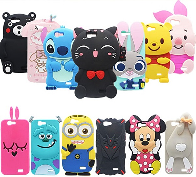 (006-040)เคสมือถือ Case Huawei G7 เคสนิ่ม 3D ตัวการ์ตูนน่ารักๆ ยอดฮิต