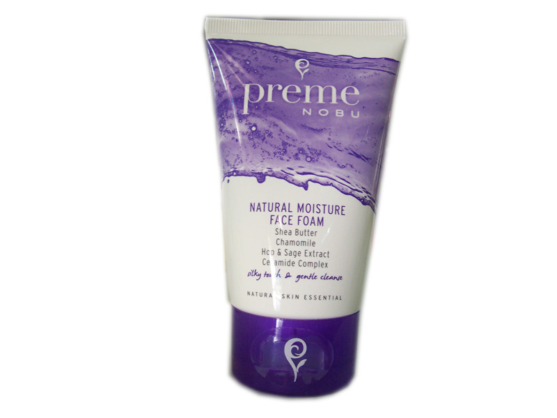 Prem Nobu Natural Moisture Face Foam 55 g