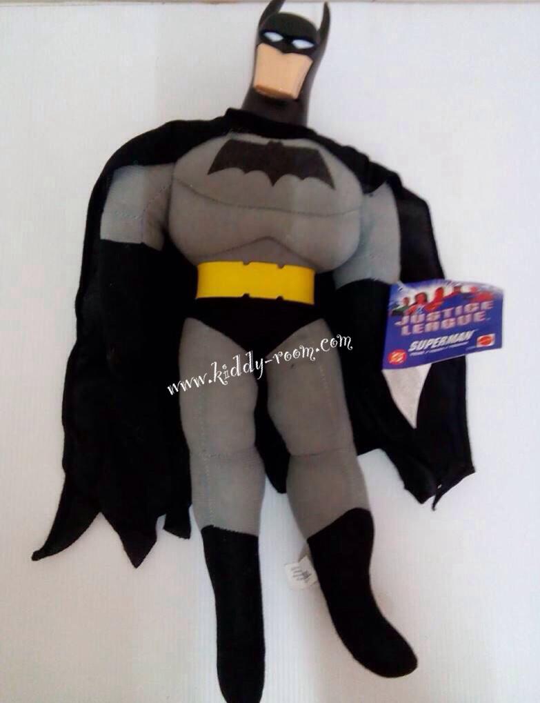 ตุ๊กตา Superhero - Batman ช่วงตัวนิ่ม หัวแข็งผลิตจากพลาสติก PVC วัสดุอย่างดี สูงประมาณ 16 นิ้ว งานคุณภาพ ถูกลิขสิทธิ์จาก DC (Mattel) ตัวใหญ่ เล่นสนุก กอดถือถนัดมือ เป็นของขวัญ ของฝากถูกใจน้องๆ แน่นอนจ้า