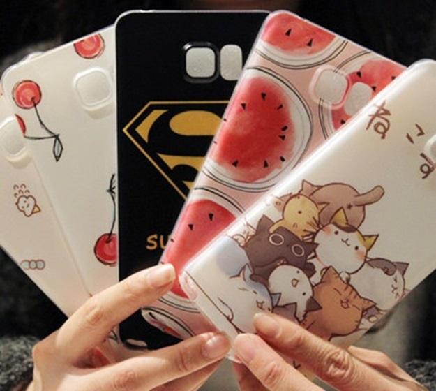 (พร้อมส่ง)เคสมือถือซัมซุง Case Note5 เคสนิ่มพื้นหลังลายสวยๆน่ารักๆ