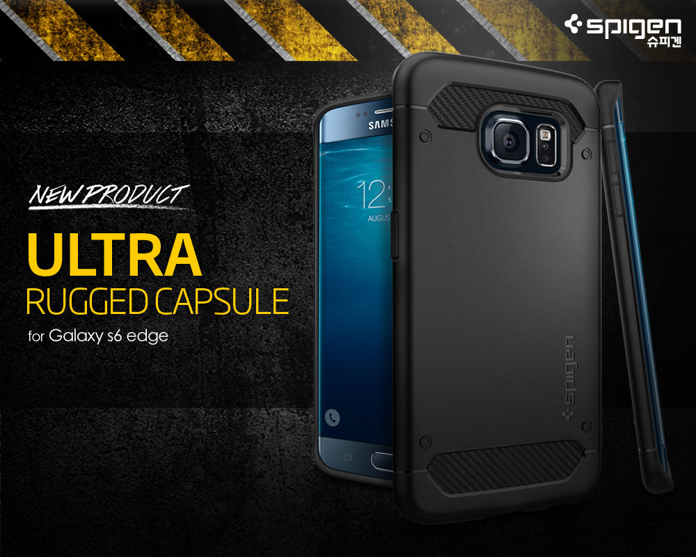 Spigen : Ultra Rugged Capsule Case Cover For Samsung Galaxy S6 Edge