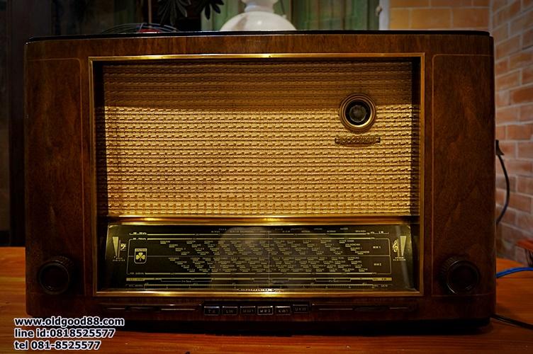 วิทยุหลอด grundig 3003w ปี1951 รหัส281160gr