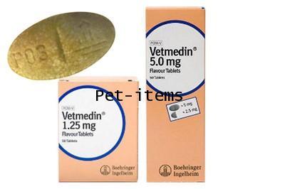 (Chewable Tablet) Vetmedin หรือ Pimobendan 5mg