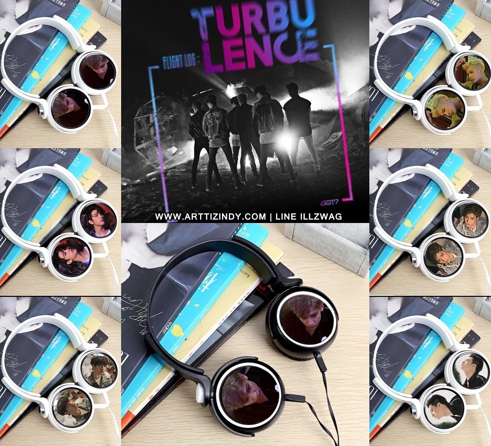 หูฟัง GOT7 TURBULENCE - HARD CARRY -ระบุสมาชิก/สี-