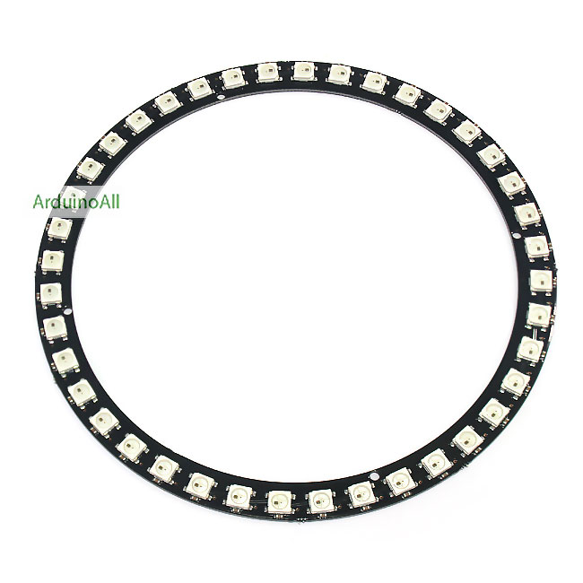 NeoPixel Ring 40 WS2812 RGB LED