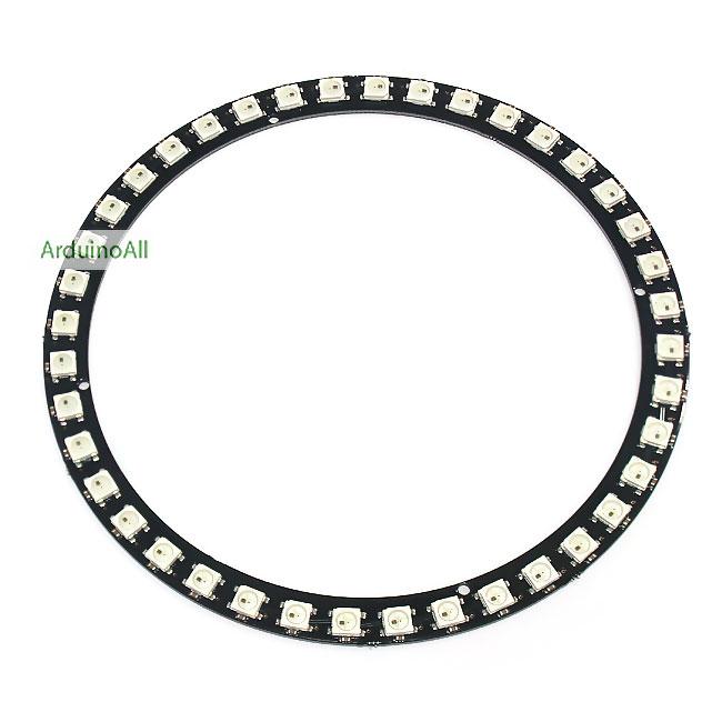 NeoPixel Ring 40 WS2812 RGB LED