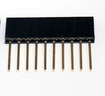Stackable Header for arduino 2.54MM 10Pin 10MM Long Needle Female Pin Header Strip Stackable Header