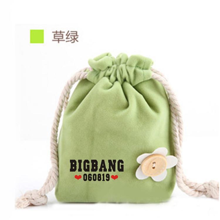 ถุงผ้าหูรูด BIGBANG