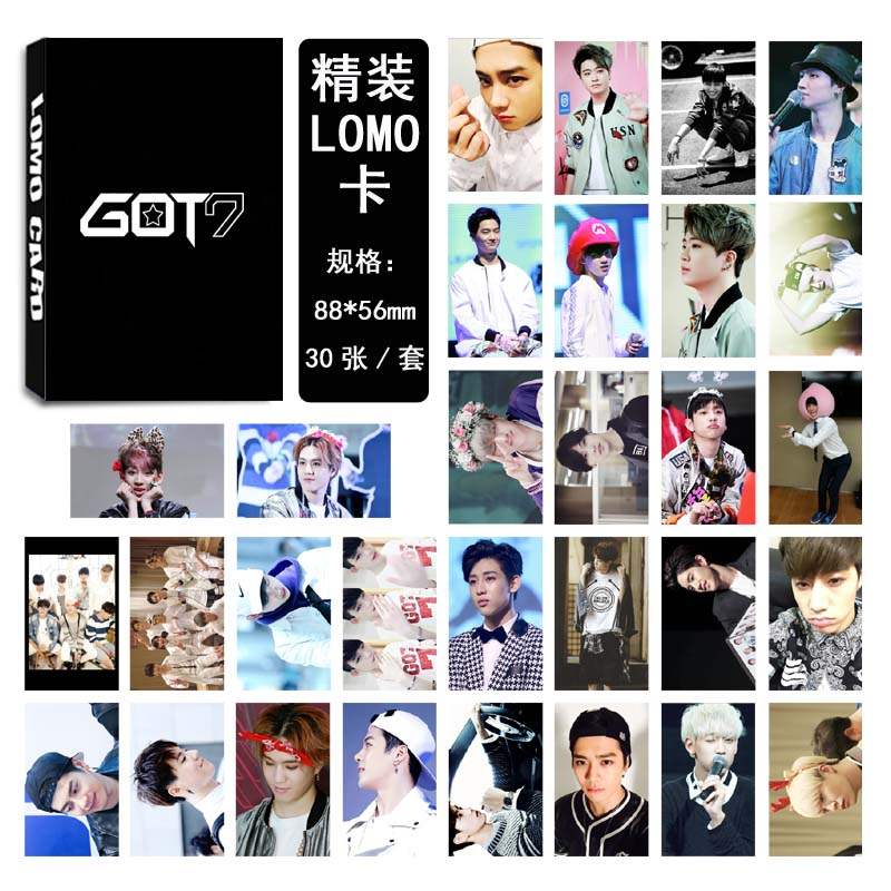 Lomo card set GOT7
