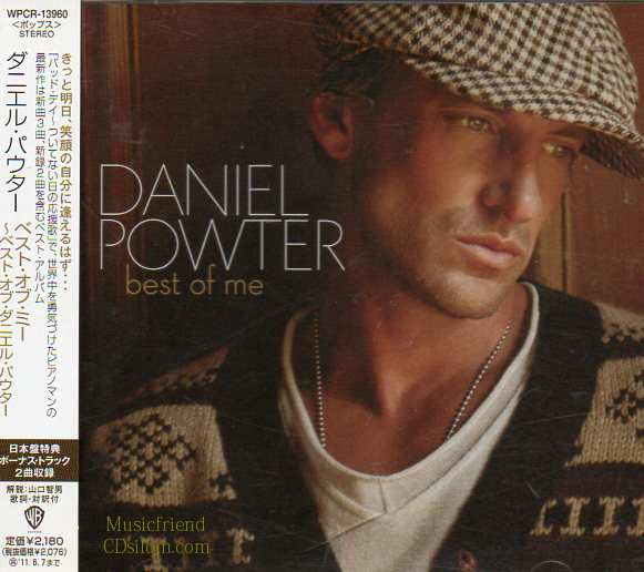 CD,Used,Daniel Powter - Best Of Me [Bonus Tracks](Japan)