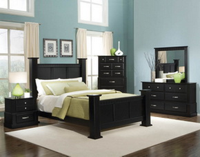 วิธีจัดห้องนอนให้น่าอยู่ด้วยเฟอร์นิเจอร์สีดำ