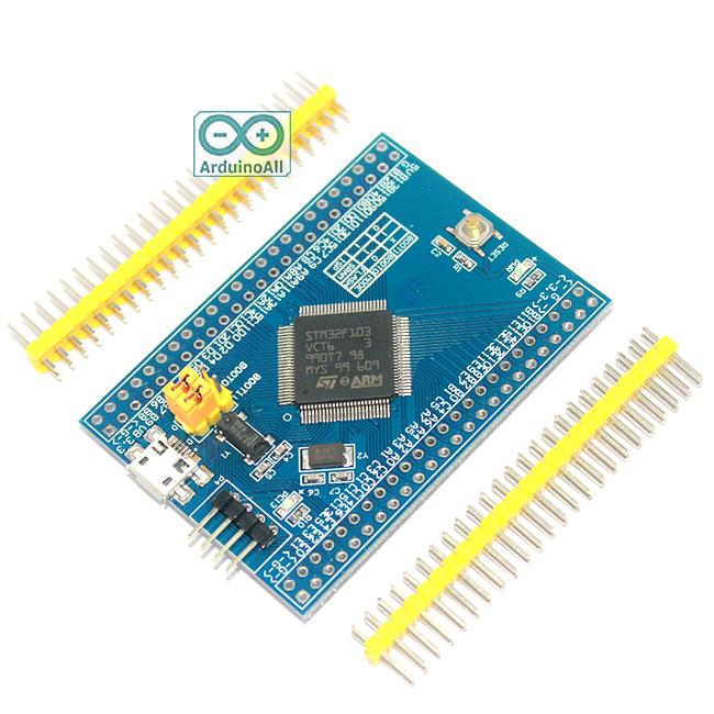 STM32F103VCT6 STM32 cortex-M3 32bit Clock 72Mhz Flash 256K RAM 48K Arduino Compatible