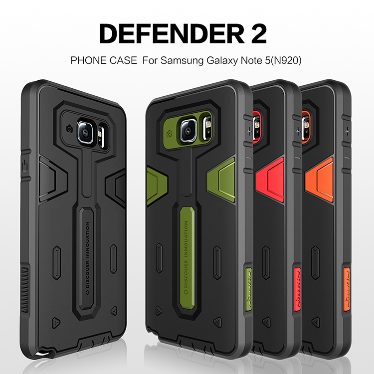 Samsung Note5 - เคสกันกระแทก ทรงถึก Nillkin Defender2 แท้