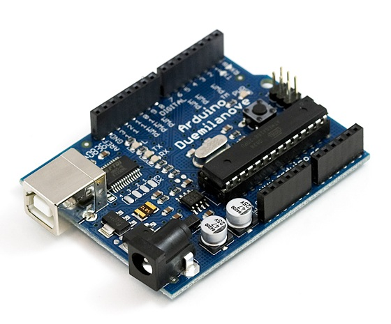 Arduino Duemilanove พร้อมสาย USB